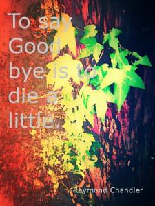 さよならをいうのは、少し死ぬことだ。